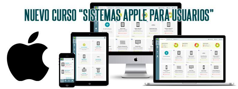 "Nuevo curso Aula Mentor, ""Sistemas Apple para usuarios"""